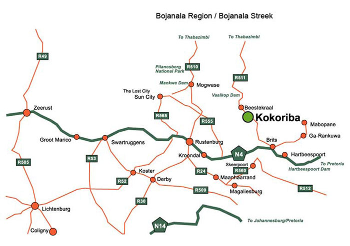 Map To Kokoriba